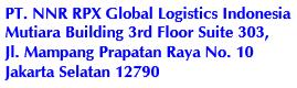 Lowongan Pekerjaan PT.NNR RPX Global Logistics Indonesia
