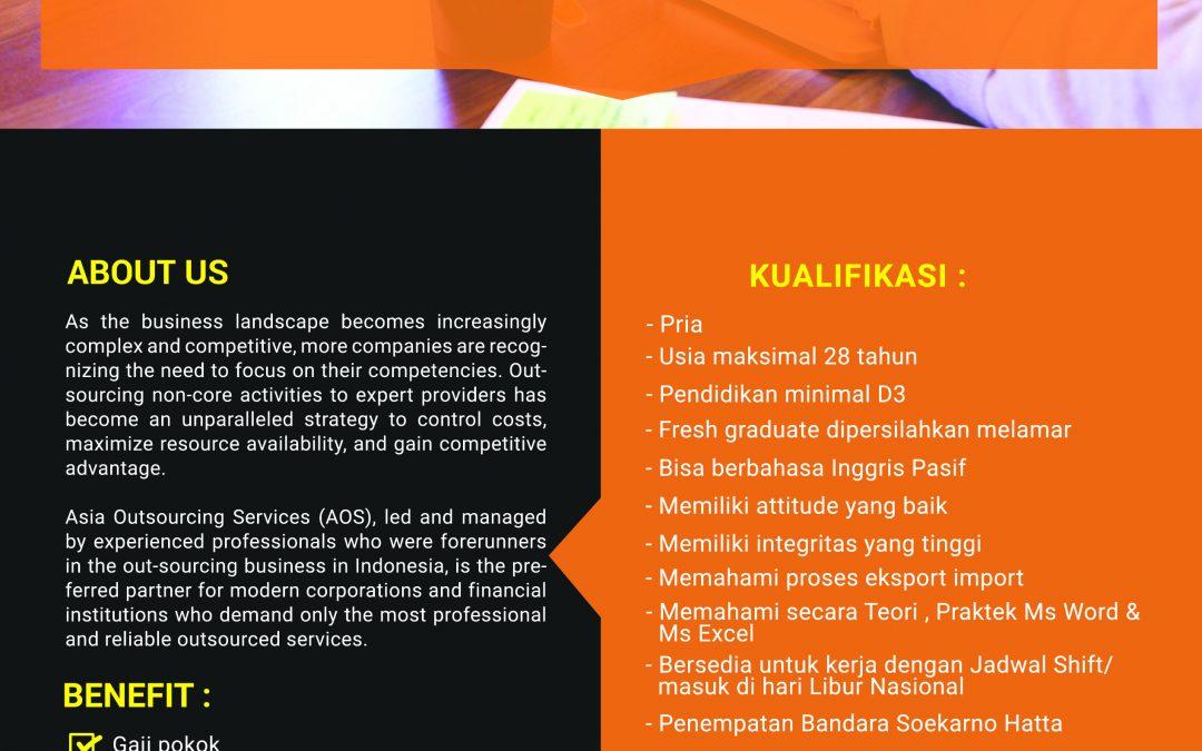 Lowongan Pekerjaan PT. Asia Outsourcing Services